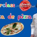 Receta pizza para peques Manuel marterchef junior Valencia Fundacion pequeño deseo