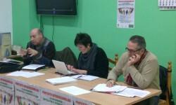 Reunión de la Junta Directiva de CAVE-COVA en una imagen de archivo.