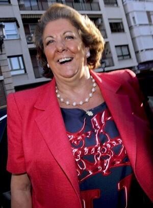 Rita Barberá, en una imagen de archivo, vuelve a presentarse como alcaldesa de Valencia en las elecciones de mayo.