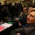 Rosa Díez, durante la reunión del Consejo Político de UPyD. (Foto-Agencias-RTVE)