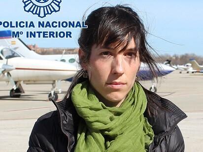 Saioa Sánchez Iturregui fue trasladada desde París a España.