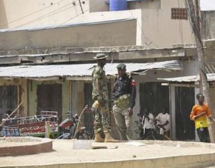 Soldados de Boko Haram en Nigeria.