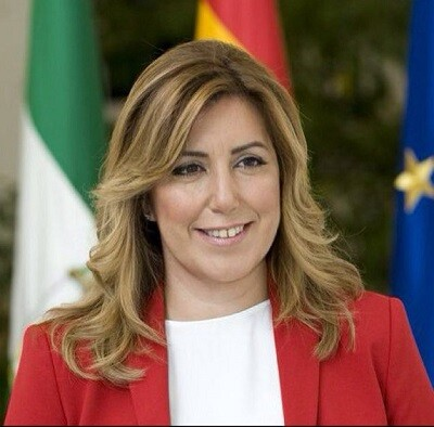 Susana Díaz, presidenta de la Junta de Andalucia.