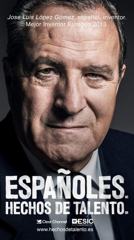 TALENTO. Estoy Harto de los Españoles. José Luis Gómez.