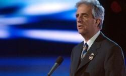 Tabaré Vázquez  ya es el nuevo presidente de Uruguay. (2)