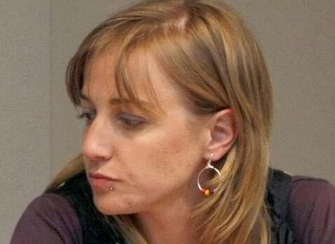Tania Sánchez en una rueda de prensa. (Foto-Agencias)