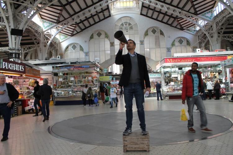 UPyD Cantó Mercado Central