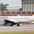 Un avión de la compañía Germanwings.