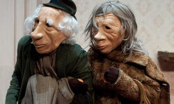Un escena de la obra 'André y Dorine'