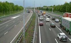 Una carretera española el día de la Operación Salida. (Foto-Agencias).
