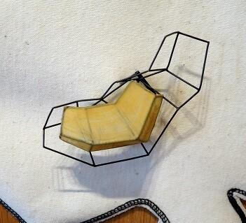 Una de las piezas expuestas por Montse Basora (E. Massana)