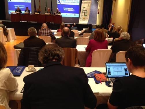 Una imagen del Congreso tomada durante una de las ponencias.