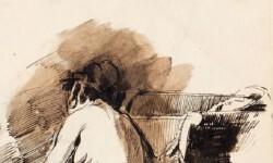 Uno de los bocetos de Pinazo.