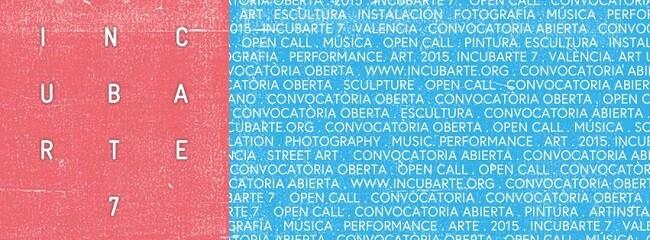 Uno de los carteles de Incubarte 7.