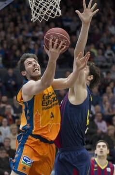 Sam Van Rossom fue uno de los valores más seguros del Valencia Basket. Foto: M. A. Polo