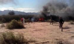 Villa Castelli, provincia de La Rioja (Argentina), fue donde se produjo el fatal acidente. (Foto-RiojaLibre.com.ar)