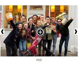 W-Fotograma película Pride