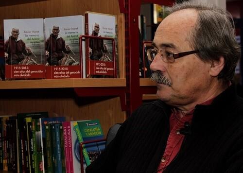 Xavier Moret repasa la historia y la realidad el pueblo armenio en su nuevo trabajo literario.