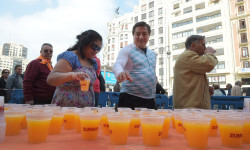 Zumo en la Plaza de toros foto_Abulaila (2)