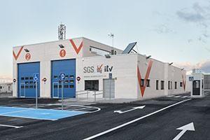 La nueva estación de ITV de SGS en Alcalá de Henares. Foto: Inbisa Byco