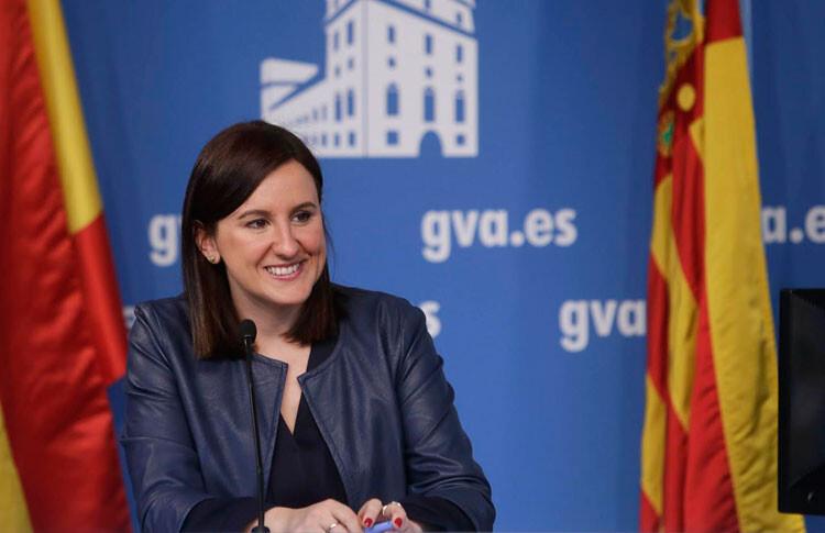 María José Catalá, consellera de Educación en funciones. Foto de archivo.