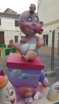 Monument infantil La Verge de Benifaió