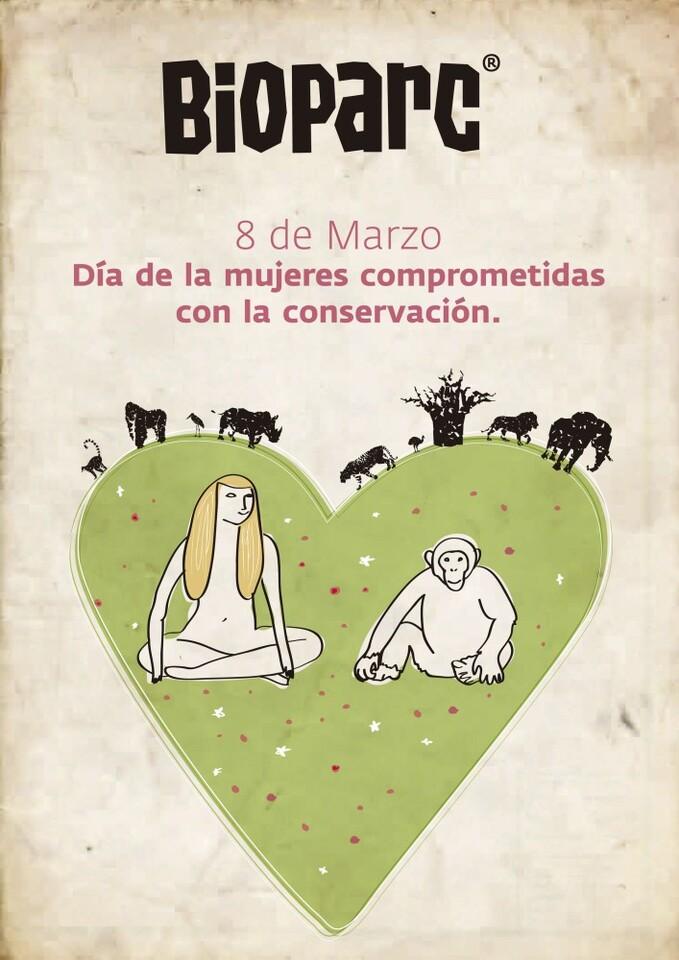 mujeres comprometidas con la conservacion y bioparc