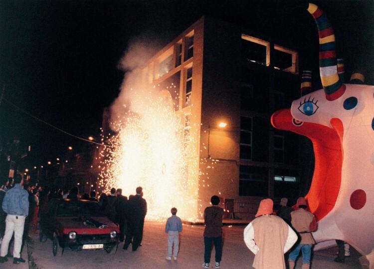 Inauguración de Sala L'Horta, hace ahora 20 años.