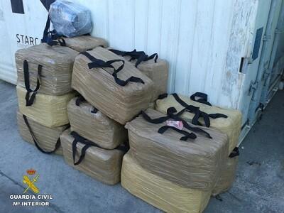 1.500 kilos de cocaína fueron intervenidos.