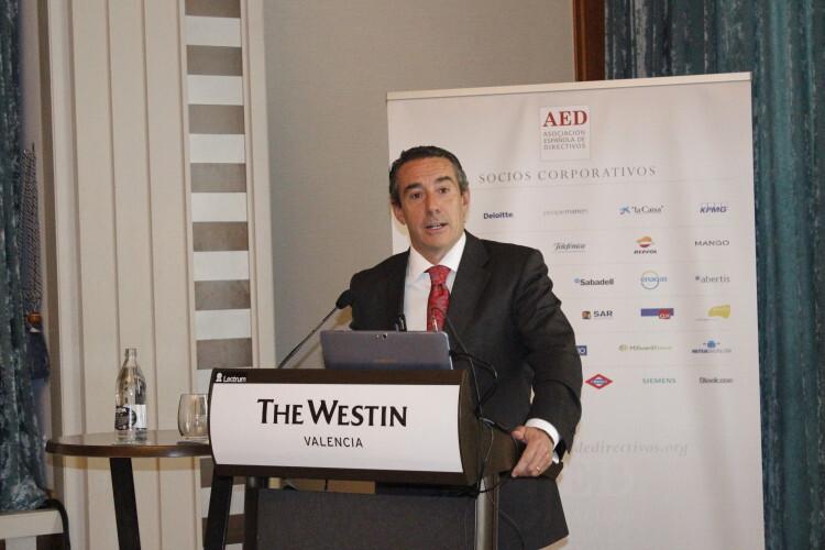 Juan Antonio Alcaraz, director general de CaixaBank
