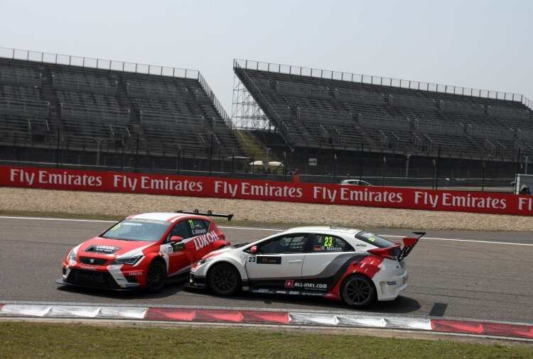 Sergey Afanasyev (RUS), SEAT León Racer, Team Craft-Bamboo LUKOIL and René Munnich (DEU) Honda Civic TCR, West Coast Racing