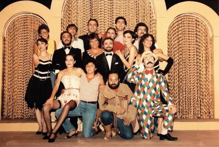 Compañía de L'Horta Teatre, año 1983.