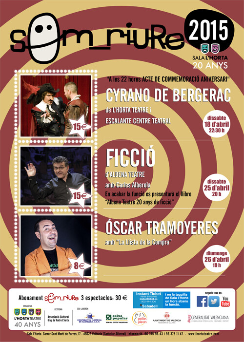 2 NP Cartell Som_riure - Horta Teatre