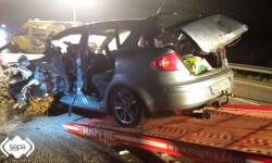 2015.04.09 Accidente de tráfico en Piloña 3