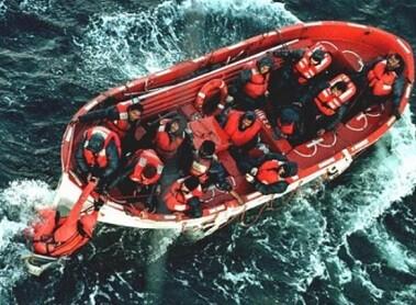 63 personas pudieron ser rescatadas.