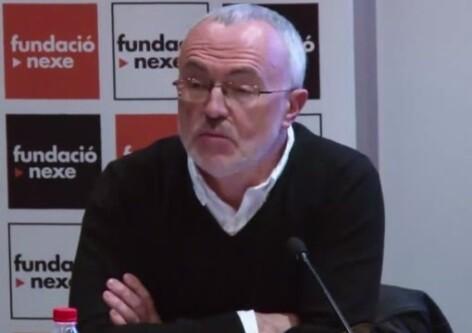 Antonio Montiel en una charla. (Foto-Podemos)