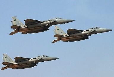 Aviones árabes atacan el territorio de Yemen. (Foto-Agencias)