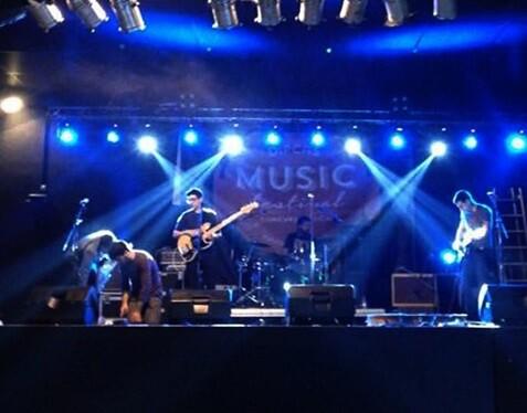 Buena acogida de este primer Dipcas Music Festival.