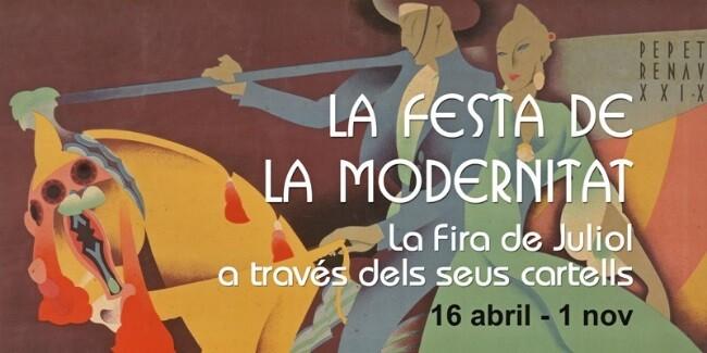 Cartel promocional de la exposición.