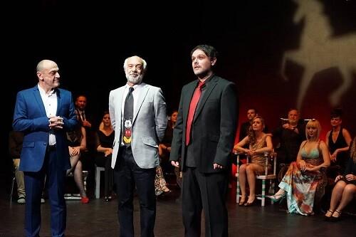Chema Cardeña, Juan Carlos Garés y David Campillos.(Gentileza de Arden)