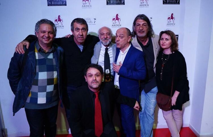 Con Aristides Rosell, Salva Torres, Juan Carlos Garés García, Chema Cardeña, Jimmy Entraigües, Aurora Luna y David Campillos Iniesta. (Gentileza de Arden)
