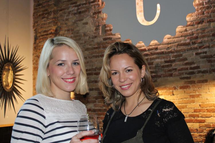 Cristina Aznar y Andrea Julve