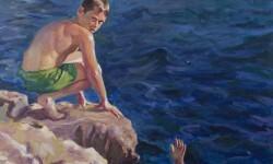 Detalle de uno de los trabajos expuestos de Jordi Jordá.