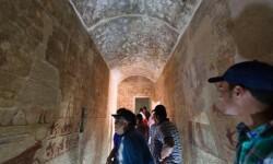 Egipto reabrió al público, esta semana, las tumbas de Iymery y de su hijo mayor, Neferbauptah.