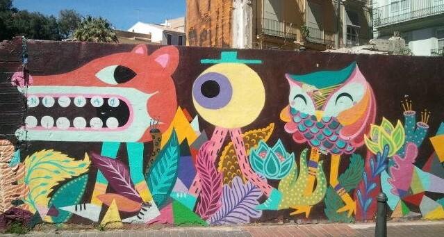 El arte de la pintura callejera goza de una enorme popularidad en muchas ciudades del mundo.