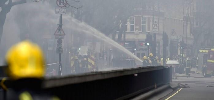 El centro de Londres vio interrumpida su actividad durante varias horas.