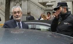 El expresidente de la Junta de Andalucía y exconsejero de Economía y Hacienda José Antonio Griñán.
