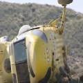 El helicóptero apareció misteriosamente en un campo de Níjar. (Foto-Agencias)