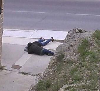 El hombre abatido por los disparos de la Guardia Civil. (Foto-efe)