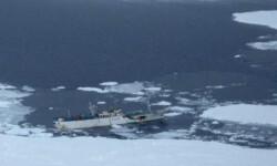 El navío de arrastre 'Dalniy Vostok' donde viajaban 132 personas.